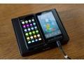 Nokia N950 naast HTC HD2 (beide met MeeGo)