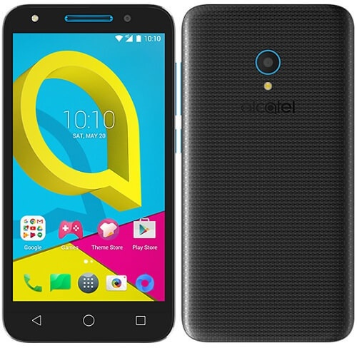 Alcatel U5 HD Zwart Zwart