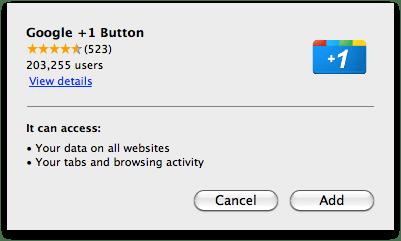 Chrome-inline-extensie