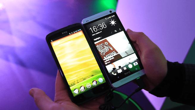 HTC One X en HTC One
