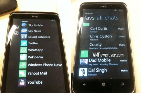 WhatsApp voor Windows Phone 7.5