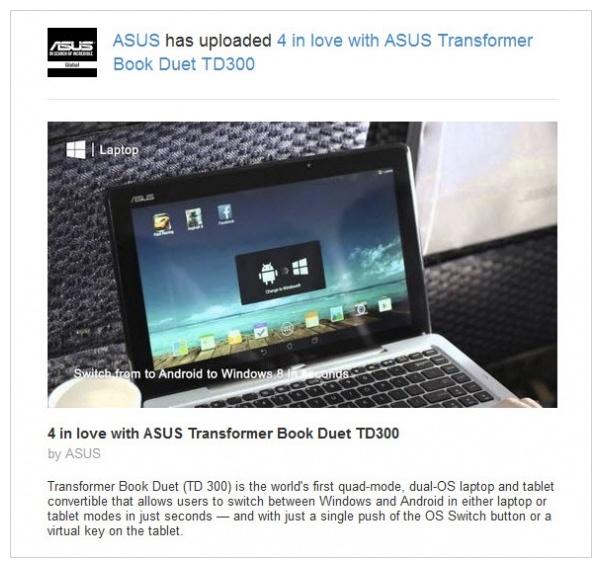 Asus Transformer Duet