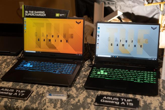 Asus TUF-laptops met Ryzen 4000H-processors