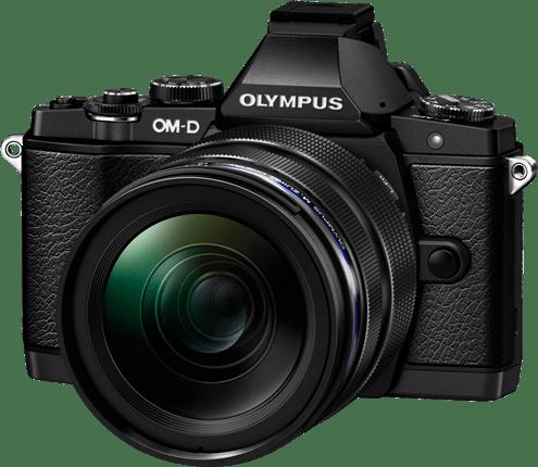 Olympus OM-D E-M5 + 12-40mm F/2.8 + FL-LM2 flitser elite pro kit Zwart