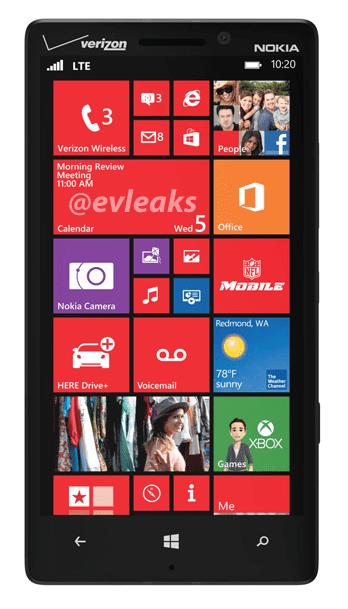 Nokia Lumia 929 via Evleaks