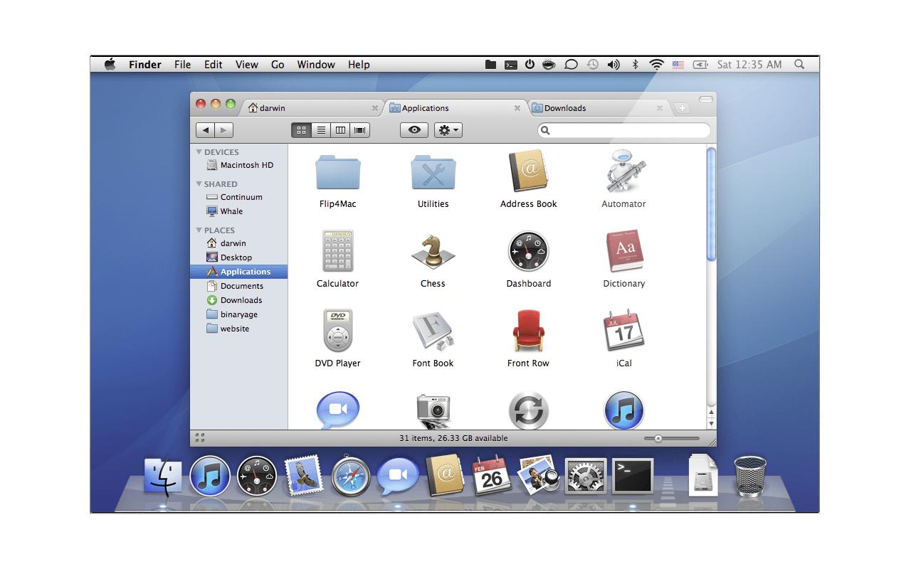 TotalFinder screenshot