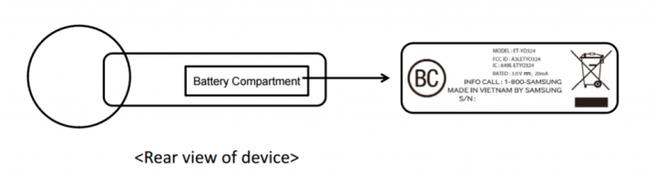 Samsung Gear VR Controller FCC