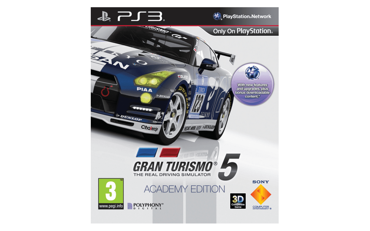 Gran Turismo 5 Academy Edition PlayStation 3