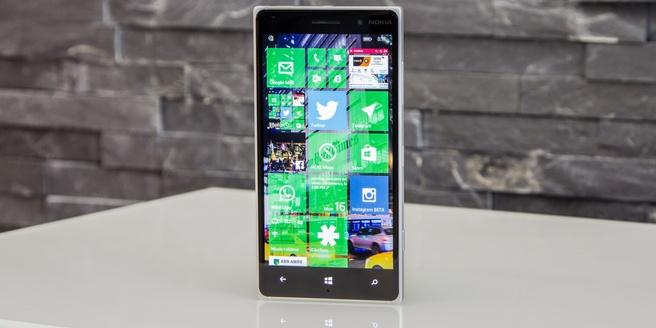 Windows 10 op Lumia 830