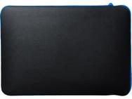 HP 15.6 Chroma sleeve Blauw, Zwart