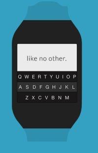 Fleksy voor smartwatches