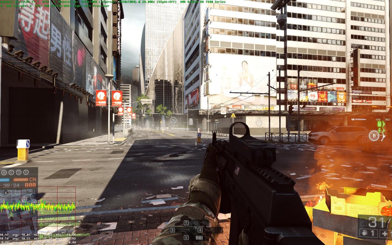 EA Battlefield 4 AMD Mantle-patch