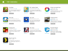 Android Market 2G Downloads Day 2