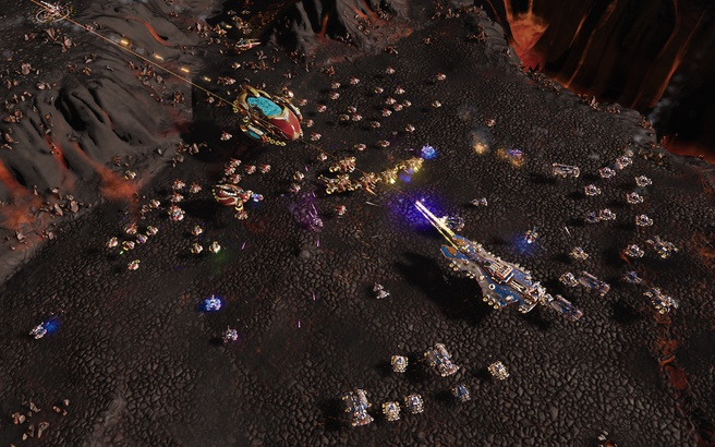 Eerste screenshots Ashes of the Singularity: Escalation