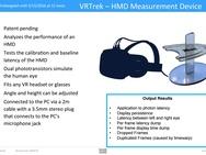 VRScore benchmark
