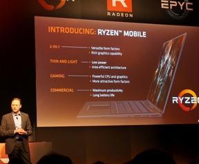 AMD Ryzen Mobile op Computex