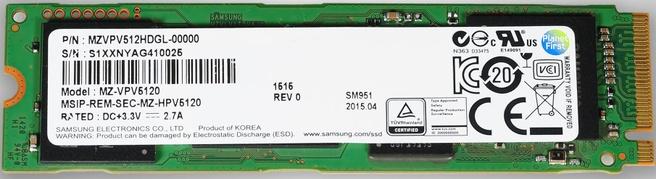 SM951-NVMe