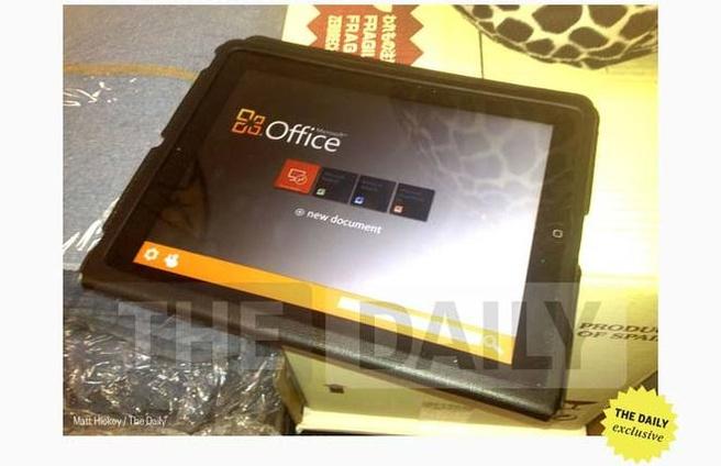 Office op de iPad