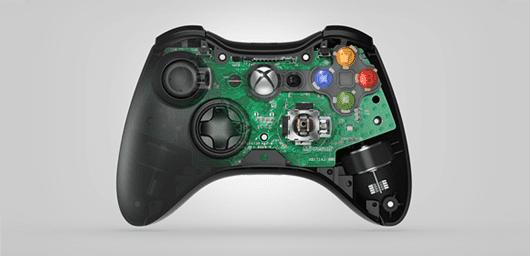 Xbox 360-controller Carbon Design