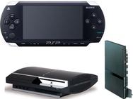 PSP, PS2 en PS3