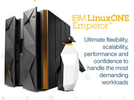 LinuxONE IBM