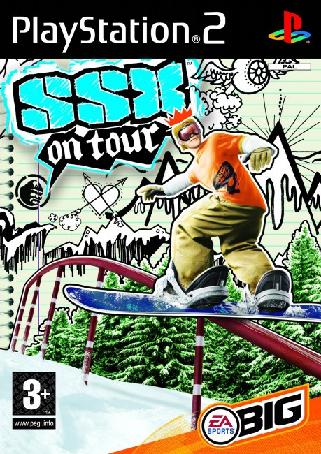SSX 4, On Tour, PlayStation 2