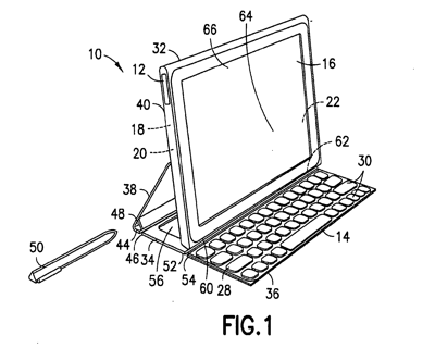Nokia patent tablet-cover