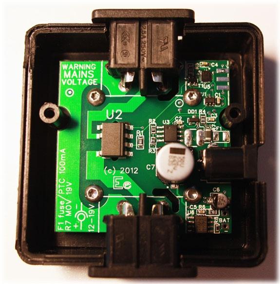 De printplaat in de EETPO-module