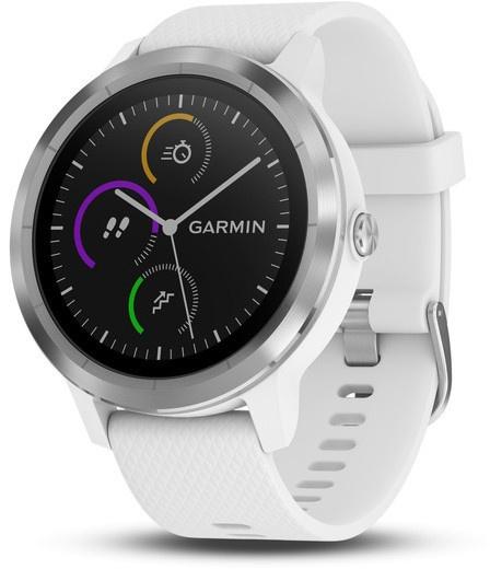 Garmin Vivoactive 3 RVS (Wit)