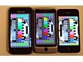 Schermvergelijking: Samsung Galaxy S, HTC Desire Z en Apple iPhone 4