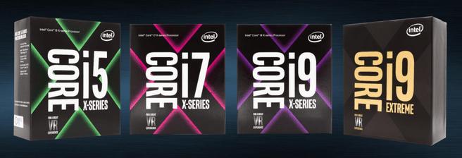 Intel Skylake-X-dozen