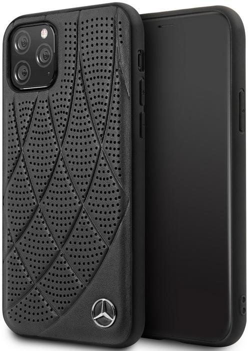 Mercedes-Benz New Bow Hard Case - iPhone 11 Pro (5.8'') - Zwart  Zwart