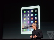 Presentatie iPad Air 2 en iPad mini 3