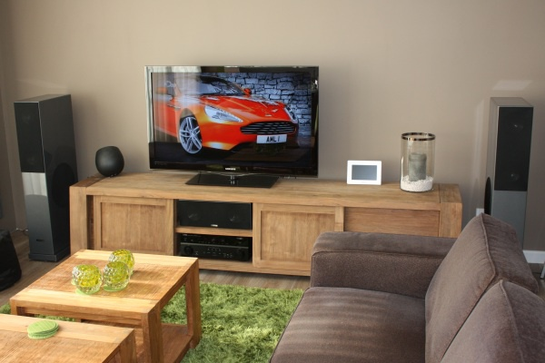 Audio Meubel Teak : Post hier foto s en specs van je home cinema deel audio en
