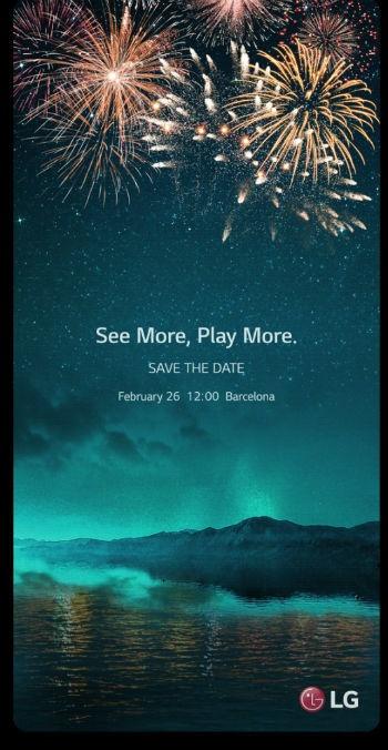 LG G6-uitnodiging