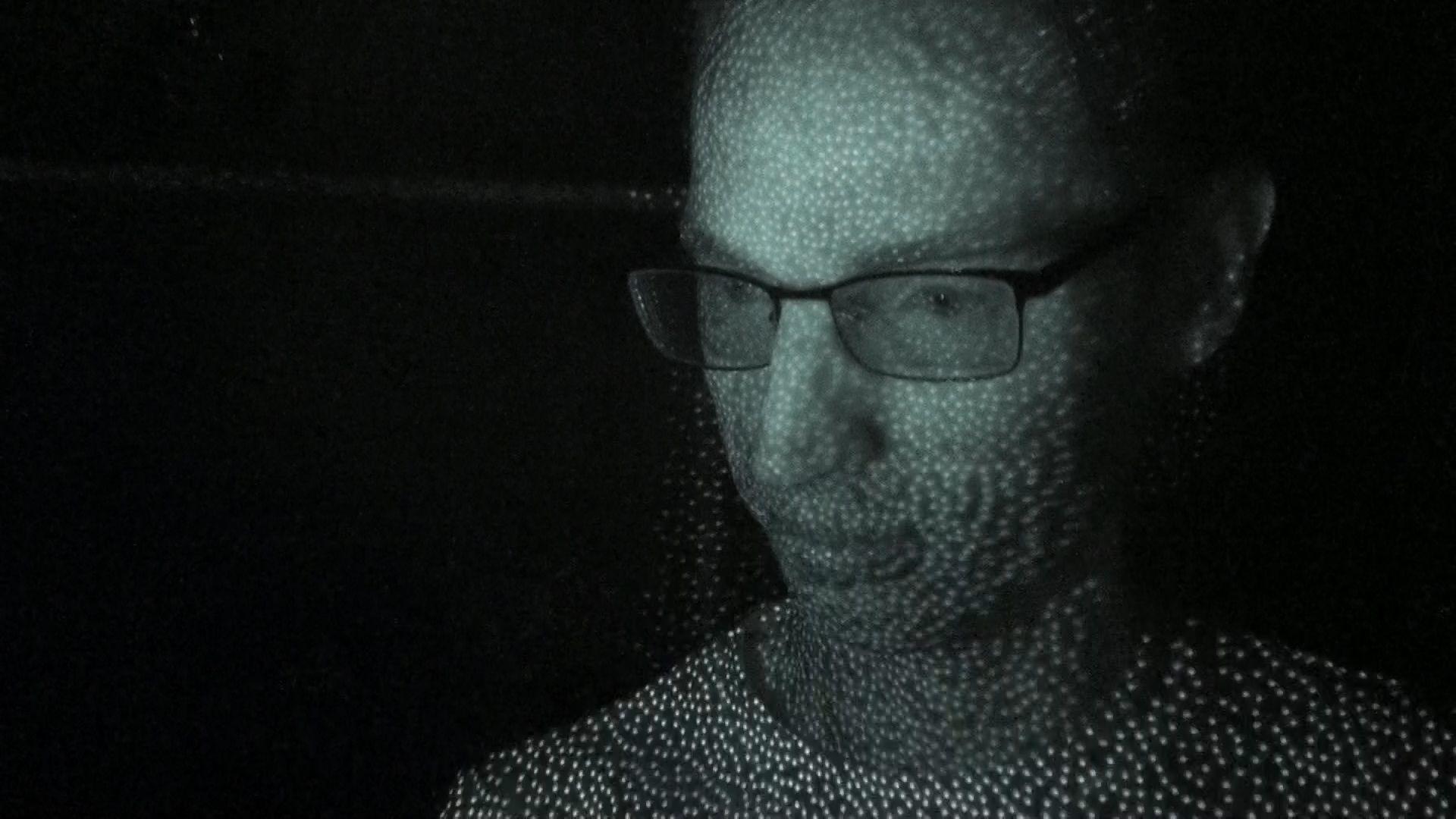 Apple iPhone X - Face ID infraroodbeeld