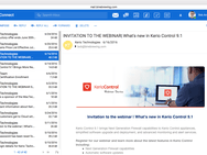 Kerio Connect - Inbox