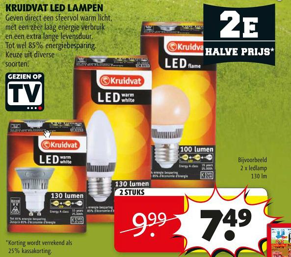 Led Lampen: Kruidvat Led Lampen