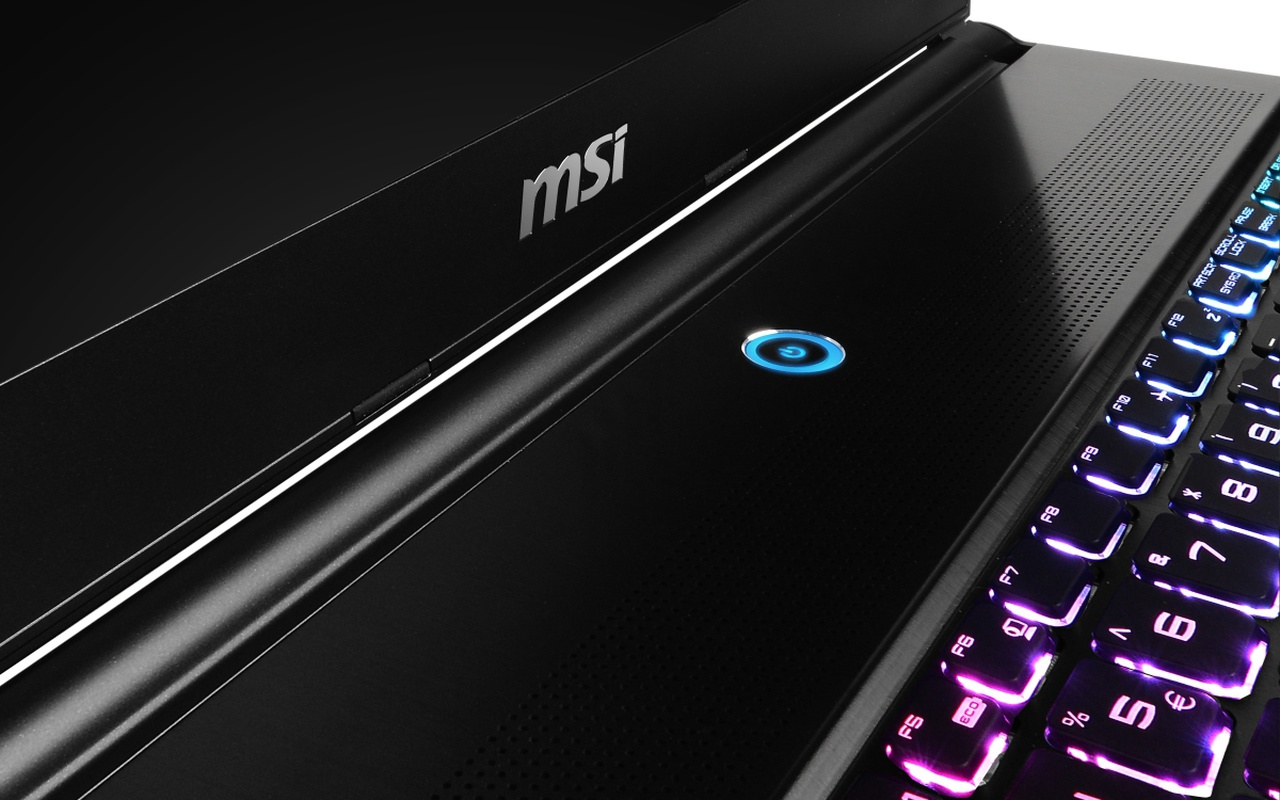 MSI GS60 Ghost Pro gaming notebook productfoto's