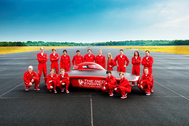 Solar Team Twente: Red Engine