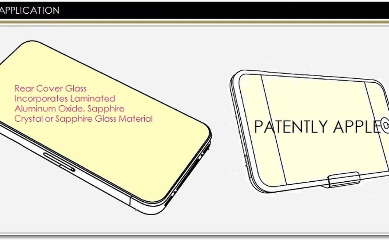 Apple Saffier patent voor displays