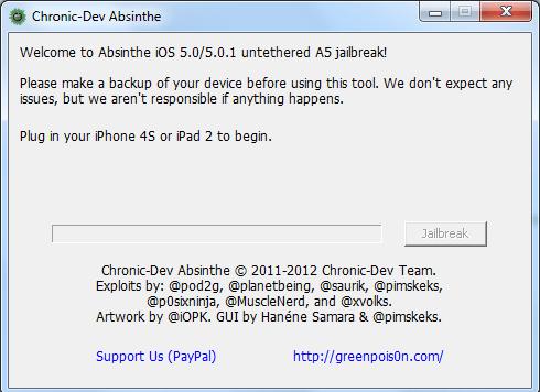 Absinthe voor Windows