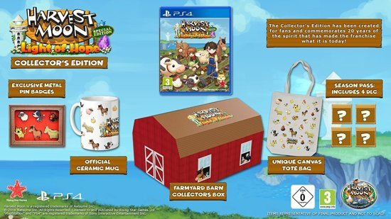 Harvest Moon: Light of Hope Collector's Edition, PlayStation 4