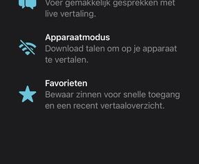 iOS 15 - vertalen