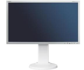 NEC MultiSync E201W Zilver