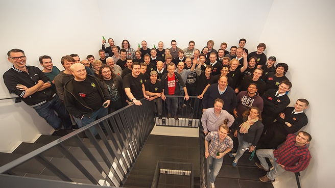 Groepsfoto Buildfest