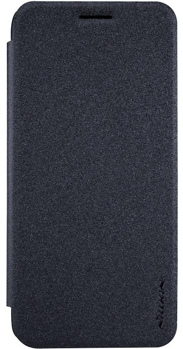 Nillkin New Sparkle Book Case voor Google Pixel - Zwart/Grijs Zwart