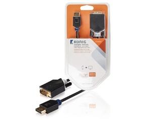 Konig DisplayPort male/DVI-D male, 2 m