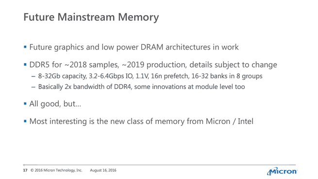 Micron over ddr5