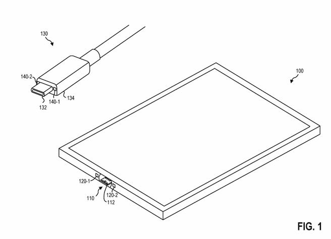 Usb-c-patent van Microsoft